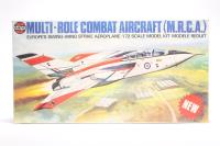 Multi-Role Combat Aircraft (M.R.C.A.) Eurpean Swing Wing Strike Aeroplane - German Naval & RAF Camoflaged Decals - Pre-owned - imperfect box