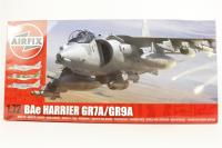 BAe Harrier GR9 with Joint Harrier Force marking transfers - Pre-owned - Imperfect box