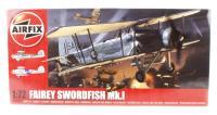 Fairey Swordfish MkI with Royal Navy FAA marking transfers