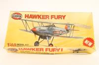 Hawker Fury I fighter - Pre-owned - Poor box