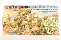 Military Figures British Infantry 1939-45 - Pre-owned - imperfect box