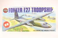 Fokker F-27 Troopship with Netherlands Airforce transfers - Pre-owned - imperfect box