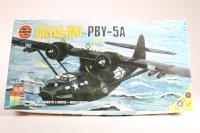 Consolidated PBY-5A Catalina with RAF and US Navy marking transfers - Pre-owned - imperfect box