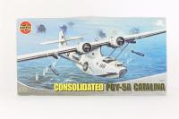 Consolidated PBY-5A Catalina with RAF and US Navy marking transfers - Pre-owned - Worn box