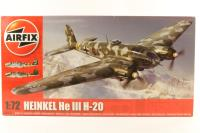 Heinkel He 111 with Luftwaffe marking transfers - Pre-owned - Like new - factory sealed