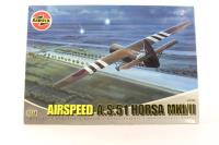 Horsa Glider with RAF and USAF marking transfers - Pre-owned - Worn box