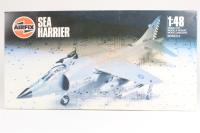 BAE Sea Harrier FRS1 with Royal Navy and Indian NAS marking transfers - Pre-owned - Like new - Sealed