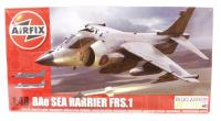 BAE Sea Harrier FRS1 with Royal Navy and Indian NAS marking transfers