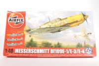 Messerschmitt Bf109E with Luftwaffe marking transfers - Pre-owned - imperfect box