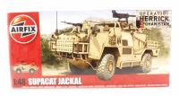 Supacat HMT400 Jackal with British Army and RAF Regiment marking transfers