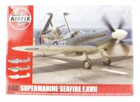 Supermarine Seafire XVIIc with RNAS marking transfers.