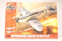 Supermarine Seafire FR46/FR47 with RNAS marking transfers - Pre-owned - imperfect box