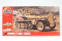 Rommel's Half Track SdKfz 250/3 'Greif' with Rommel, observer and driver - Pre-owned - Like new