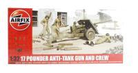 17 Pounder Anti-Tank Gun and Crew