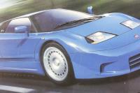 Bugatti EB110 - Pre-owned - imperfect box