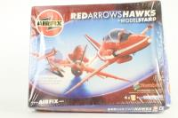 Red Arrows Hawks & Model Stand - Pre-owned - Like new - factory sealed