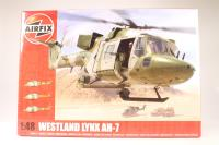 Westland Lynx AH1-7 with British Army, Royal Marines & UN marking transfers - Pre-owned - imperfect box