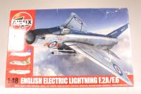 English Electric Lightning F2A/F6 with RAF marking transfers - Pre-owned - Like new