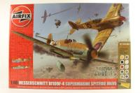 Dogfight Double with Spitfire MkVB and Messerschmitt Bf109F - Pre-owned - Like new