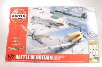 Battle of Britain 70th Anniversary including Spitfire MkIa, Hurricane MkIa, Messerschmitt BF109E and Heinkel HeIII - Pre-owned - Like new