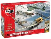 Battle of Britain 70th Anniversary including Spitfire MkIa, Hurricane MkIa, Messerschmitt BF109E and Heinkel HeIII