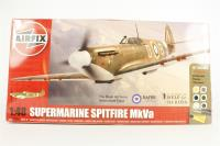 Help For Heroes Spitfire including Spitfire MkVa with 616 squadren W3185 D-B  marking transfers as flown by Douglas Bader - Pre-owned - Like new