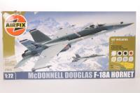 McDonnell Douglas F-18A Hornet with USAF marking transfers - Pre-owned - imperfect box