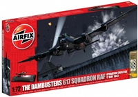 Dambusters Gift Set including Lancaster BIII Special with 617 Squadren marking transfers and German Dam display base