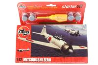 Mitsubishi Zero with Japanese Air Force marking transfers - Pre-owned - Like new