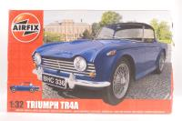 Triumph TR4A - Pre-owned - sold as seen - kit complete but missing paints, poor box