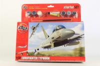 Eurofighter Typhoon with RAF marking transfers.  - Pre-owned - Like new