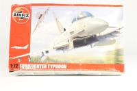 Eurofighter Typhoon with RAF marking transfers.  - Pre-owned - imperfect box