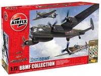 Battle of Britian Memorial Flight Collection with Lancaster B.III, Spitfire Mk.IIa and Hurricane Mk.IIc.