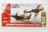 Dogfight Double with Spitfire 1A and Messerschmitt Bf109E.  - Pre-owned - Like new