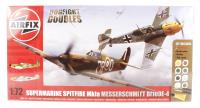 Dogfight Double with Spitfire 1A and Messerschmitt Bf109E.