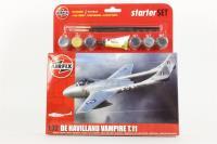 De Havilland Vampire T.11 - New Tool for 2013 - Pre-owned - Like new