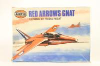 Red Arrows Gnat - Pre-owned - Some parts broken away from mould grid - Imperfect Box