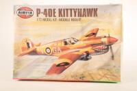 Curtiss P-40E Kittyhawk - Pre-owned - imperfect box (sealed)