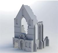 Belgian Ruin Church
