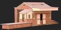 Goods depot building