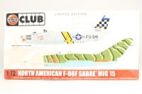 F86F Sabre and Mig15 Jet Fighters - Pre-owned - Like new