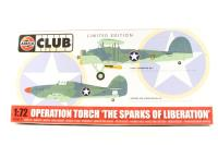 Airfix Club Limited Edition 1/72 Operation Torch Swordfish and Sea Hurricane Kit - Pre-owned - Like new