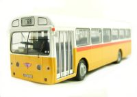 "AEC Swift in yellow & white s/deck bus. Ltd ed of 1008 pcs with cert. ""Malta"""