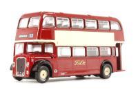 """Bristol Lodekka LD1 d/deck bus Route 12 """"Fife"""""""