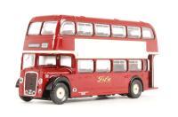 """Bristol Lodekka LD1 d/deck bus Route 025 """"Fife"""""""
