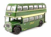 "Bristol Lodekka LD1 Open Platform Short Radiator ""Bristol Omnibus Co."" 233 to Chippenham (circa 1957-1973)"