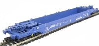 KQA Intermodal pocket wagon in blue (pristine). 84 70 4907 017-14