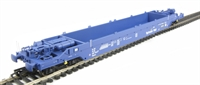 KQA Intermodal pocket wagon in blue (pristine). 84 70 4907 015-3