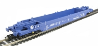KQA Intermodal pocket wagon in blue (pristine). 84 70 4907 070-3