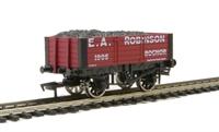 5 plank wagon 'E A Robinson' 9ft wheelbase